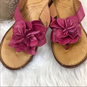 Born Fuchsia Sandals